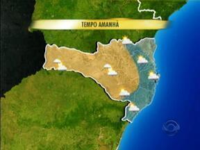 Confira a previsão do tempo para Santa Catarina - Confira a previsão do tempo para Santa Catarina.