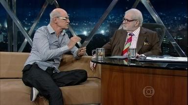 Marcos Caruso fala sobre o espetáculo 'Em nome do Jogo' - O ator fala também sobre sua vida sexual depois de interpretar o Leleco de 'Avenida Brasil'
