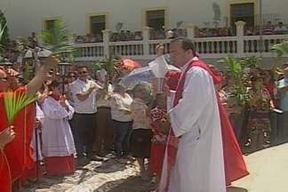 Veja como foi a comemoração do Domingo de Ramos em Campina Grande - Data lembra chegada de Jesus em Jerusalém.