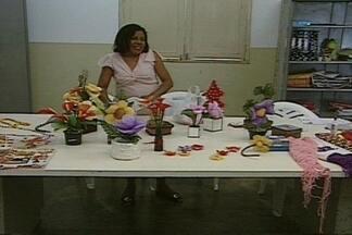 Cursos de artes são oferecidos a deficientes físicos - Os cursos de artes estão sendo oferecidos no Centro Social Urbano de Campina Grande, um projeto que é exemplo de inclusão aos deficientes físicos.