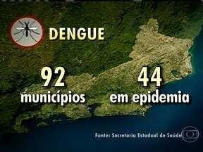Rio de Janeiro tem nove casos de morte por dengue confirmados - A Secretaria Estadual de Saúde divulgou novos números da dengue no Rio de Janeiro. O número de mortos por causa da doença subiu e já chega a nove pessoas.