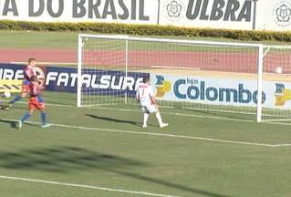 Veja os gols do jogo Canoas x São Luiz - O jogo aconteceu neste domingo (14).