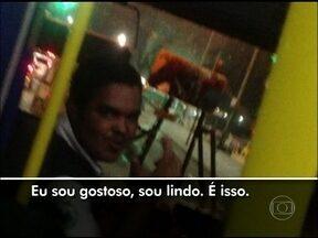 Veja flagrantes de problemas com ônibus no Rio de Janeiro - Em um dos casos, passageiro gravou resposta malcriada de motorista em alta velocidade