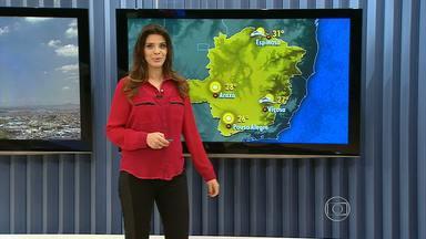 Com céu claro, Belo Horizonte tem altas temperaturas nesta quarta (17) - Durante a madrugada, termômetros registraram 15.4°C. Máxima na capital deve ficar em torno de 30°C.
