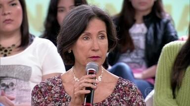 Pais devem compartilhar com os filhos a preocupação sobre as drogas - Maria Tereza diz que os pais dar abertura para os filhos conversarem