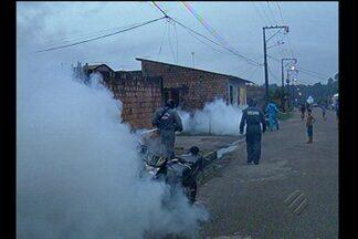 Ações de combate à malária continuam na Grande Belém - A repórter Trisha Guimarães acompanhou.