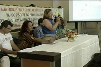 Audiência pública discute em Açailandia os problemas no trânsito do município - No mês de março foram registrados mais de 50 acidentes.
