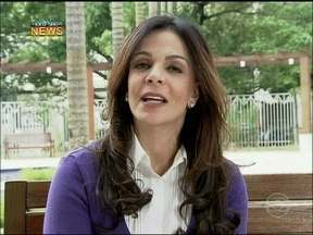 Vídeo Show News: Sula Miranda comenta sobre sucesso de Thammy - Madrinha da atriz elogia o sucesso de Jô de Salve Jorge