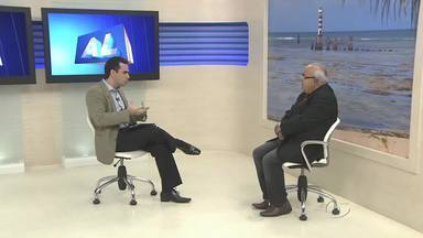 Estúdio: Manoel Henrique - teólogo - Teólogo fala sobre a participação dos jovens em atividades ligadas à Igreja