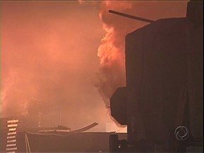 Incêndio atinge galpão de madeira em Alto Paraná - Tubulação de estufa explodiu