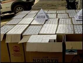 15 mil maços de cigarros foram apreeendidos em Ipatinga - Os cigarros foram apreendidos em uma blitz.