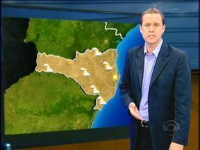 Confira a previsão do tempo para o fim de semana - Confira a previsão do tempo para o fim de semana.