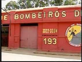 Corpo de Bombeiro de Caratinga mantém greve - Caso aconteça algum acidente grave, socorro mais próximo vem da cidade de Manhuaçu.