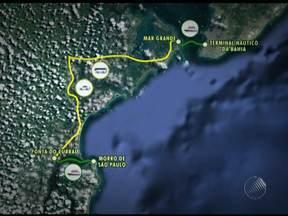 Travessia para Morro de São Paulo é feita com conexão em Itaparica - Situação é provocada pelo mau tempo na Bahia