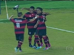 Confira os gols deste sábado (20) nos campeonatos estaduais - Em Macaé, o Flamengo começou perdendo para o time da casa, mas virou o jogo e venceu por 3 a 1, com gols de Hernane (2) e Nixon. Já o Vasco perdeu de 1 a 0 para o Madureira. O Remoderotou o Payssandu por 2 a 1 pelo Campeonato Paraense.