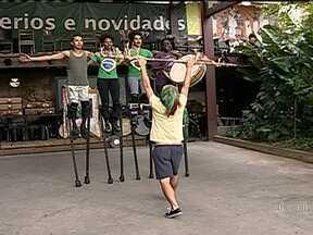 Artistas mostram seus trabalhos na Zona Portuária - Inspirados pela revitalização da Zona Portuária do Rio de Janeiro, artistas farão, no Dia de São Jorge, um festival para mostrarem os seus trabalhos.