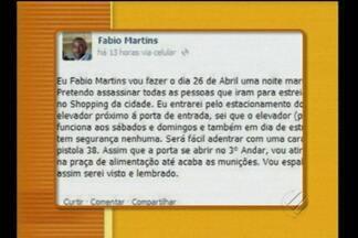 Jovem é detido em Santarém por fazer ameaça de atentado nas redes sociais - Jovem é detido em Santarém por fazer ameaça de atentado nas redes sociais