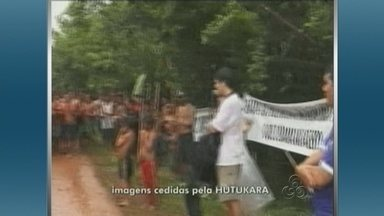 Índios e fazendeiros voltam a entrar em conflito em Roraima - Yanomamis reivindicam desocupação de terra