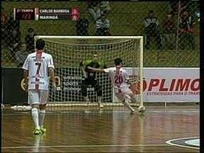 Maringá perde na Liga Futsal - Derrota para o Carlos Barbosa encerra a invencibilidade paranaense na competição