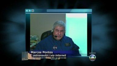 Marcos Pontes foi o primeiro brasileiro a viajar para o espaço - Astronauta acredita no crescimento do turismo espacial