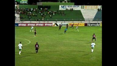 Icasa vence o Guarany de Sobral, no Romeirão - Verdão do Cariri passa pelo Guarasol por 2 a 0, no Romeirão, e retorna à liderança do Cearense, com 28 pontos