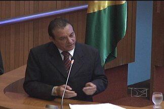 Raimundo Cutrim se defende de supostas ligações com grupo de agiotas - Cutrim defende criação de CPI para apurar agiotagem no Maranhão. Deputado também criticou investigações de SSP e Ministério Público.