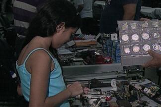 Encontro Nacional de Colecionadores de Selos e Moedas acontece em João Pessoa - Evento vai até próximo domingo e reúne colecionadores do Brasil inteiro.