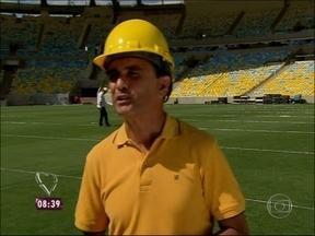 Filho do ex-jogador Bebeto diz: 'Tenho sonho de criar história no Maracanã' - Craque estava acompanhado do filho Matheus, também jogador de futebol