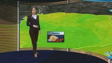 Confira a previsão do tempo no Sul de Minas - Confira a previsão do tempo no Sul de Minas para essa sexta-feira (26)