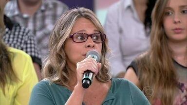 Mulher diz que equipamentos de segurança salvaram Alberto - Denise conta que o marido teve um pressentimento antes do acidente