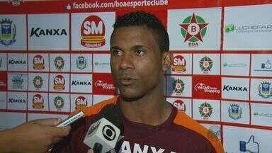 Recuperado de lesão, zagueiro Carciano está de volta ao Boa Esporte - Recuperado de lesão, zagueiro Carciano está de volta ao Boa Esporte
