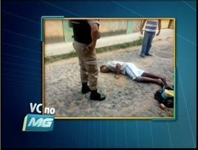VC no MG: homem passa mal e fica sem atendimento em uma rua de Teófilo Otoni - Ele recebeu os primeiros atendimentos de um policial militar.