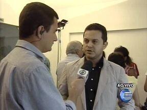 Em coletiva, Greco fala sobre ação no assalto a Banco do Brasil em Miguel Alves - Em coletiva, Greco fala sobre ação no assalto a Banco do Brasil em Miguel Alves