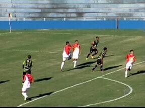 Triângulo Mineiro estreia com empate contra o América-MG pelo Juniores - Primeira partida de campeonato estadual da equipe de Uberaba foi marcada por falta de gols, resultado das muitas chances desperdiçadas