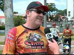 São João Del Rei recebe tapa da Copa Internacional de Montain Bike - Evento será no próximo sábado