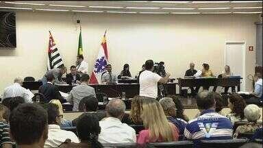 Câmara de São Vicente vota criação de comissão para analisar a cassação do prefeito - A Câmara de São Vicente, no litoral de São Paulo, vota, nesta quinta-feira (2), a criação de uma comissão para analisar a cassação do prefeito Luis Claudio Bili (PP).