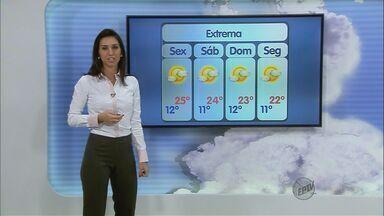Confira a previsão do tempo no Sul de Minas - Confira a previsão do tempo no Sul de Minas para essa sexta-feira (3)