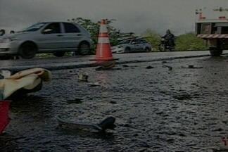 Trecho da BR-230 registra quatro acidentes com mortes em cinco dias em Campina Grande - Todos os mortos nos acidentes eram motociclistas.