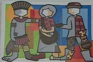 Artista pernambucana retrata a Paraíba usando muitas cores e formas através da pintura - Conheça um pouco do trabalho da artista plástica Karina Oliveira.