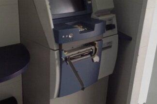 Tentativa de roubo a caixa eletrônico de shopping na Paraíba - Os bandidos se disfarçaram de clientes.