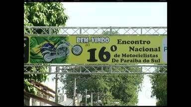 Paixão pela velocidade reúne motociclistas em Paraiba do Sul - Estilo aventureiro do público é uma das atrações do evento.