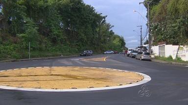Rua Belém, em Manaus, passa a ter mão dupla - Via está localizada na Zona Centro-Sul da capital.