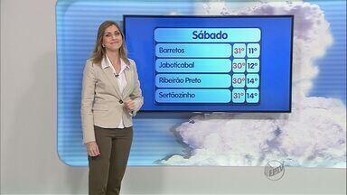 Previsão do Tempo – 12/05/2013 – Ribeirão Preto e região - Confira a previsão do tempo para este domingo.