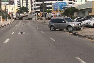 Motoristas ainda estão se acostumando com as mudanças na Treze de Julho - SMTT diz que a sinalização ainda não foi concluída.