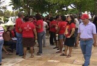 Prefeitura de São Cristóvão, em Sergipe, começa a punir os professores - Professores estão em greve desde o início do ano letivo.