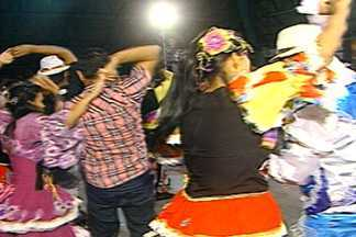 Quadrilhas juninas de Campina Grande se reúnem para fazer ensaio geral - Contagem já é regressiva para as festas de São João da cidade.