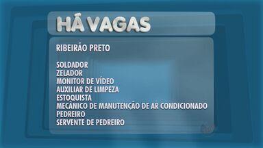 Posto de Atendimento ao Trabalhador de Ribeirão oferece vagas de emprego - Cobrador externo, auxiliar de cozinha e zelador estão entre as oportunidades.