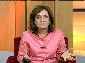 'Esperança no leilão de campos de petróleo são empresas chinesas', diz Miriam Leitão - Para Miriam Leitão, a paralisação da exploração de novas áreas de petróleo foi devastadora para a economia brasileira, já que o país perdeu muitos investimentos.
