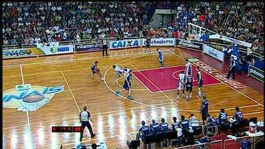 Uberlândia vence o Bauru no primeiro jogo da semifinal do NBB - Jogo foi no interior de São Paulo.