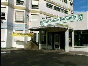 Elevadores da Santa Casa de Uruguaiana, RS, não funcionam há dois dias - Transtorno para funcionários, servidores, acompanhantes e pacientes do hospital.